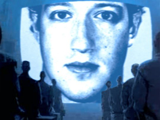 Mark Zuckerberg as Big Brother - Original