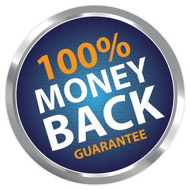 Money Back Guarantee Trust Badge