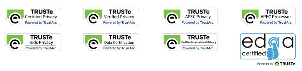 all truste certifications