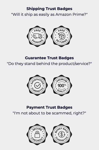 free trust badges